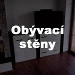 Obyvací stěny a obývací pokoje z lamina