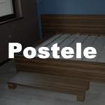 Masivní a bytelné postele z lamina